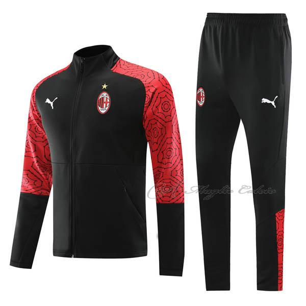 ac milan giacca nero rosso 2020-21