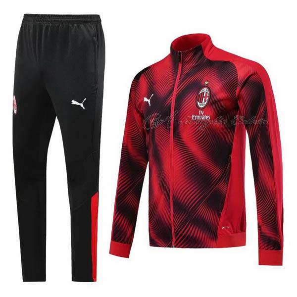 ac milan giacca rosso 2019-2020