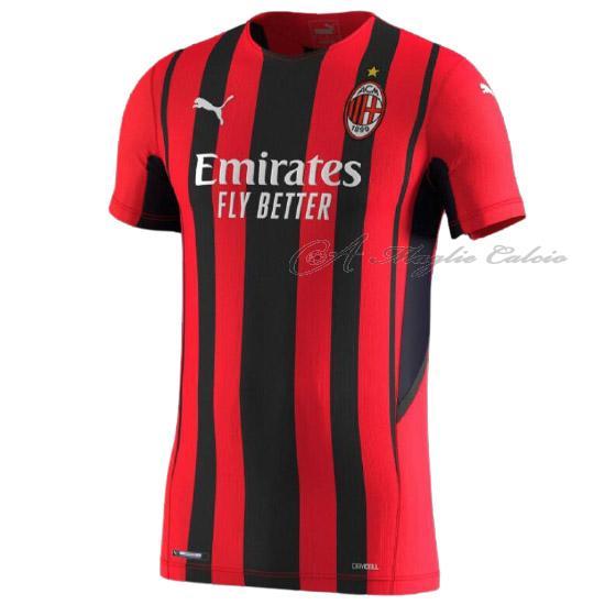 Vendite ac milan maglia gara home 2021-22 online
