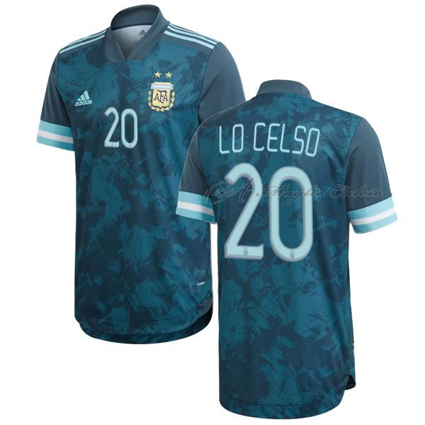 argentina maglia lo celso gara away 2020-2021