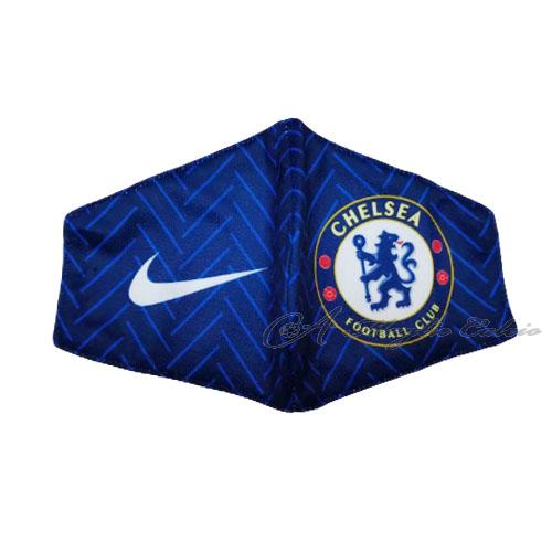 chelsea face masks blu 2020-21