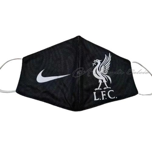 liverpool face masks nero 2020-21