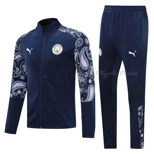 manchester city giacca blu navy 2020-21