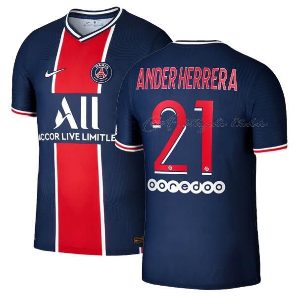 paris saint-germain maglia ander herrera gara home 2020-21