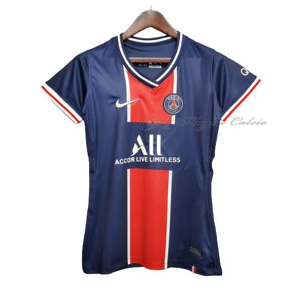 paris saint-germain maglia donna gara home 2020-21