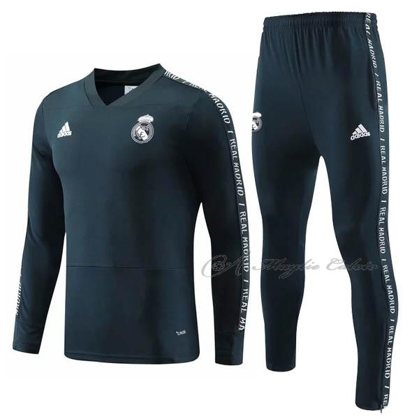 real madrid felpa i blu 2019-2020