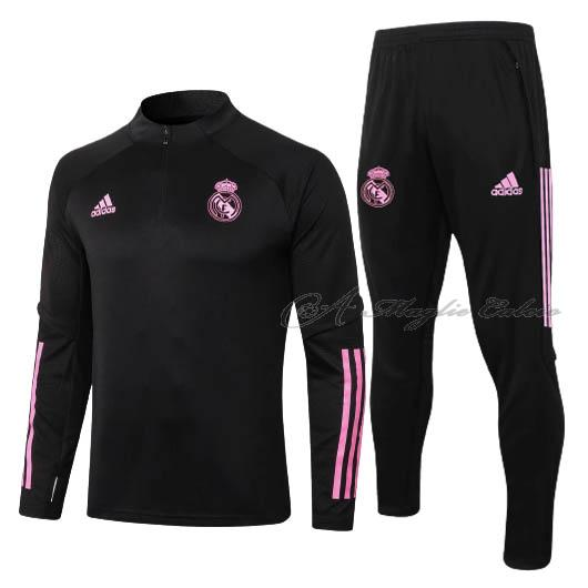 real madrid felpa nero 2020-21