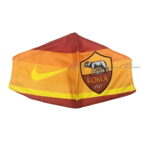 roma face masks giallo 2020-21