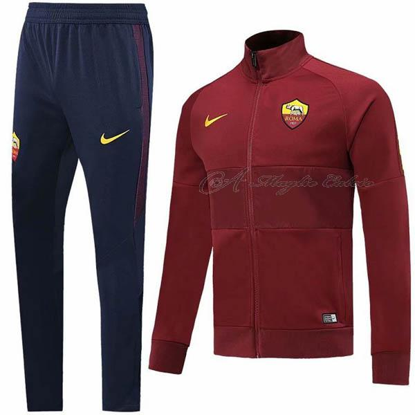 roma giacca rosso 2019-2020